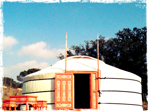second hand yurt